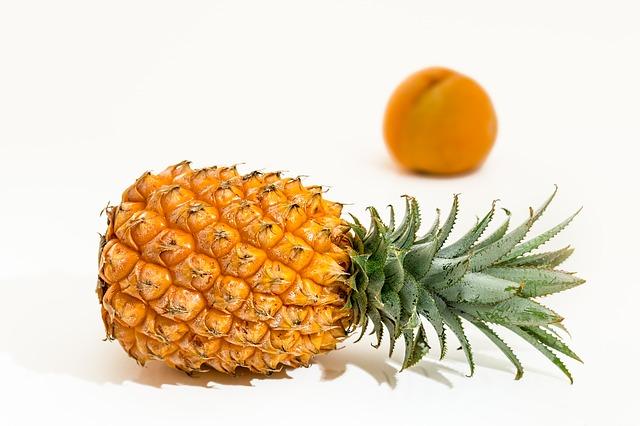 ananas a meruňka