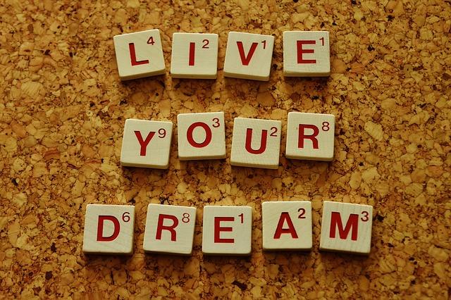 žít svůj sen