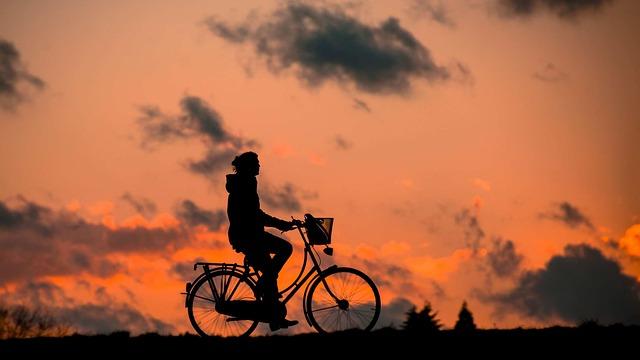 jízda při soumraku