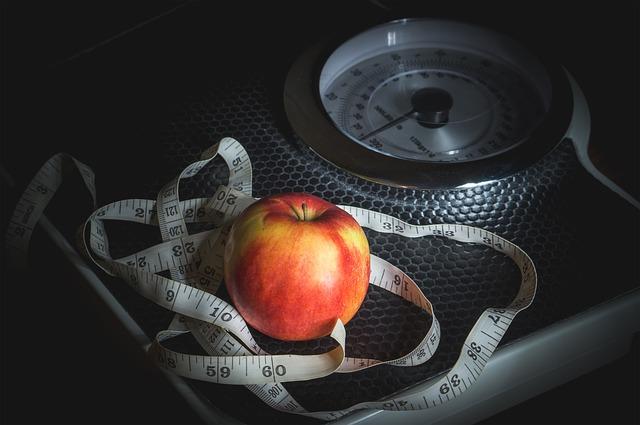 jablko na váze